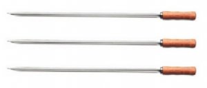 Professional Long BBQ Tandoori Skewers [Set of 3] | Buy Online at The Asian Cookshop.